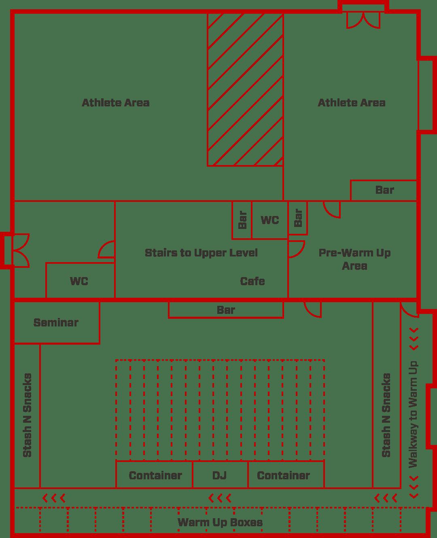 Ultra Games Event Floor Plan